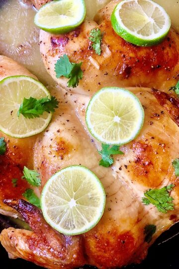 KETO LOW-CARB PALEO COCONUT LIME CHICKEN