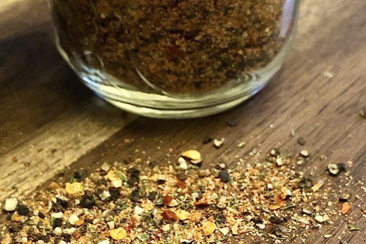 KETO LOW-CARB PALEO SUGAR-FREE SALT-FREE MONTREAL STEAK SPICE