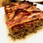 PALEO WHOLE30 BACON COVERED HOMEMADE MEATLOAF